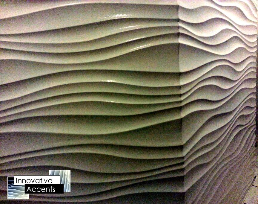 3d sculpted wall panels