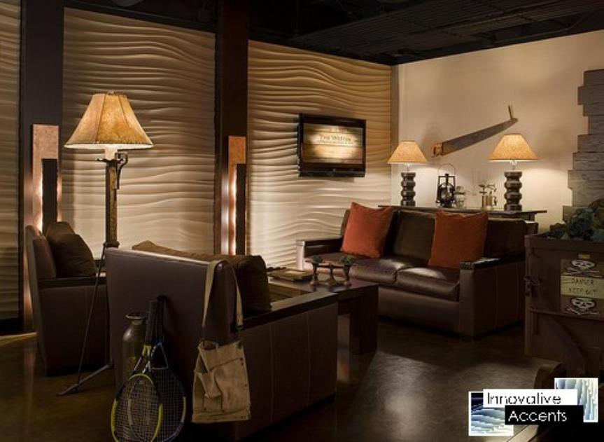 3D Wall Paneling, Textured Wall Paneling, Decorative Wall Paneling, Wave Wall Paneling